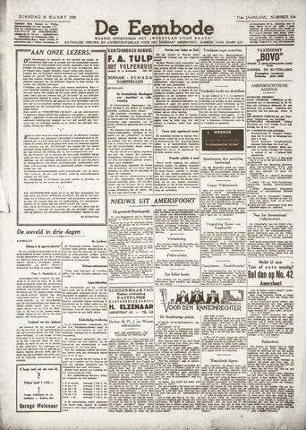 De Eembode 1938-03-29