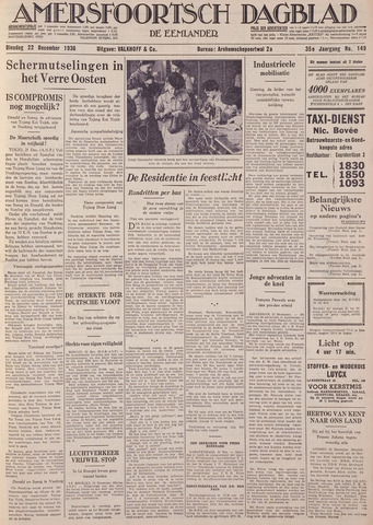 Amersfoortsch Dagblad / De Eemlander 1936-12-22