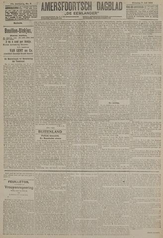 Amersfoortsch Dagblad / De Eemlander 1918-07-09
