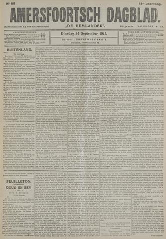 Amersfoortsch Dagblad / De Eemlander 1915-09-14