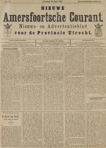 Nieuwe Amersfoortsche Courant 1897-06-26