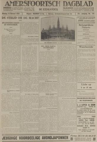 Amersfoortsch Dagblad / De Eemlander 1934-02-13