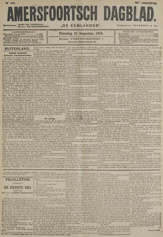 Amersfoortsch Dagblad / De Eemlander 1916-08-15