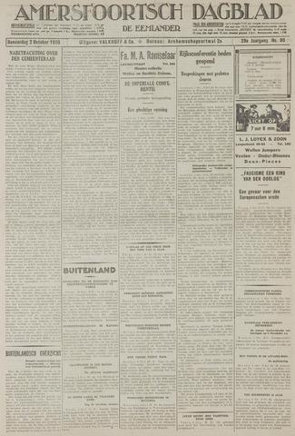 Amersfoortsch Dagblad / De Eemlander 1930-10-02