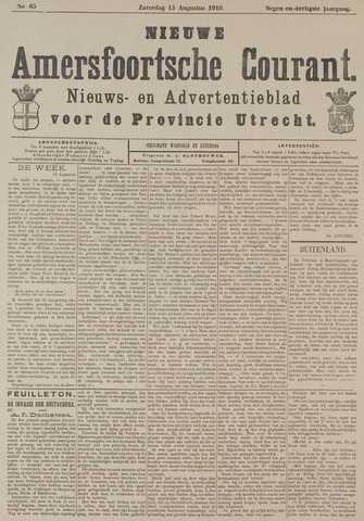Nieuwe Amersfoortsche Courant 1910-08-13
