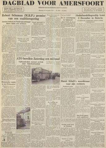 Dagblad voor Amersfoort 1947-11-24