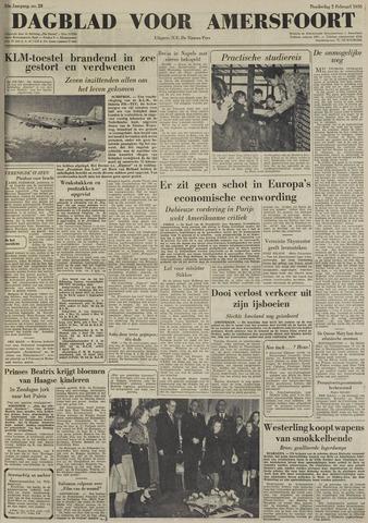 Dagblad voor Amersfoort 1950-02-02