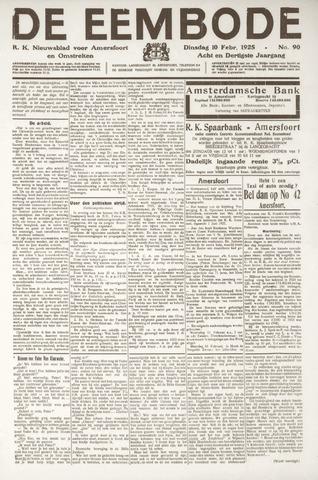 De Eembode 1925-02-10