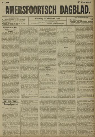 Amersfoortsch Dagblad 1904-02-22