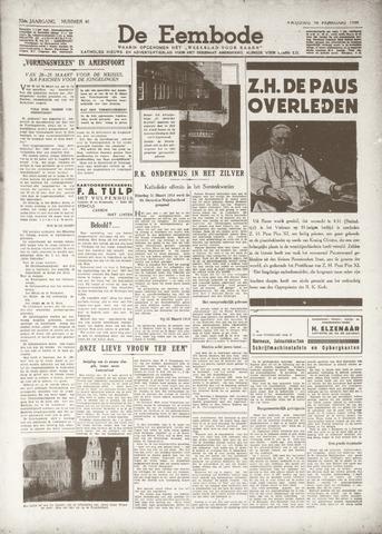 De Eembode 1939-02-10