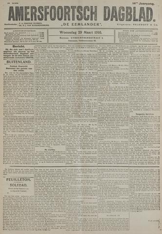Amersfoortsch Dagblad / De Eemlander 1916-03-29