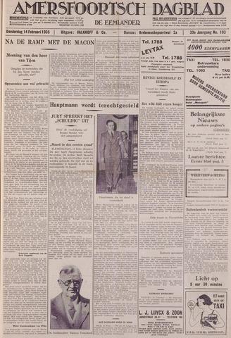 Amersfoortsch Dagblad / De Eemlander 1935-02-14