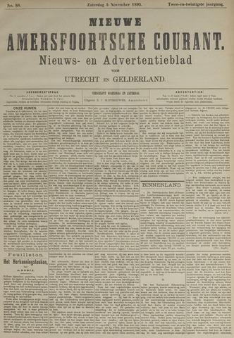 Nieuwe Amersfoortsche Courant 1893-11-04
