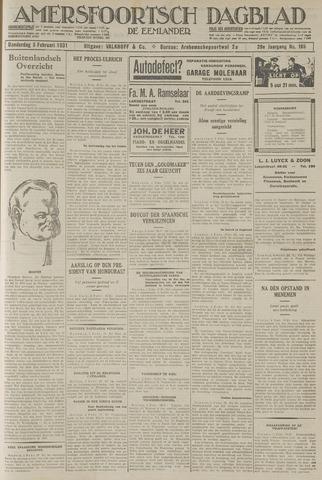 Amersfoortsch Dagblad / De Eemlander 1931-02-05