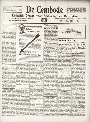 De Eembode 1929-12-13