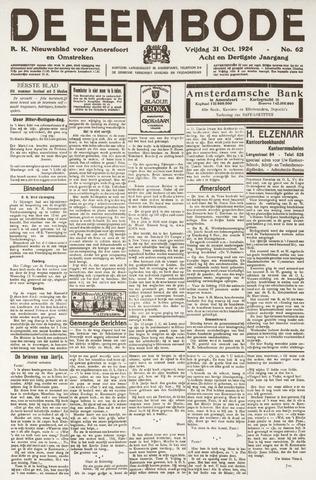 De Eembode 1924-10-31