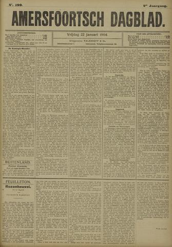 Amersfoortsch Dagblad 1904-01-22