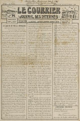 Le Courrier 1916-09-10