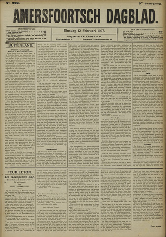 Amersfoortsch Dagblad 1907-02-12