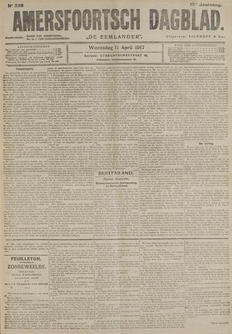 Amersfoortsch Dagblad / De Eemlander 1917-04-11