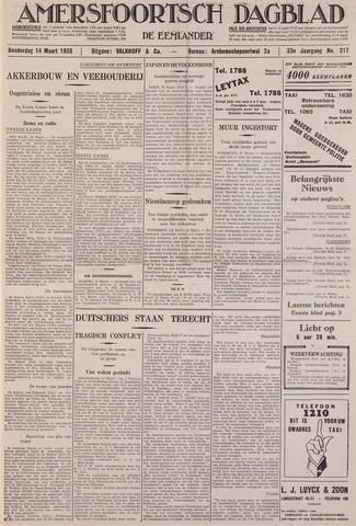 Amersfoortsch Dagblad / De Eemlander 1935-03-14