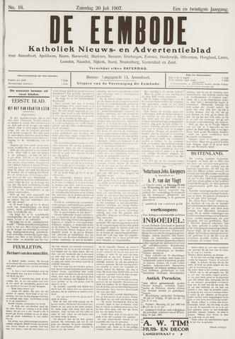 De Eembode 1907-07-20