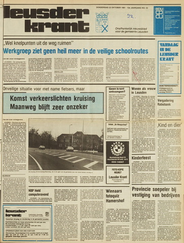 Leusder Krant 1981-10-22