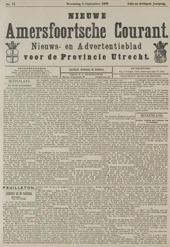 Nieuwe Amersfoortsche Courant 1909-09-08