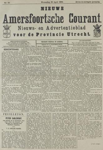 Nieuwe Amersfoortsche Courant 1908-04-29