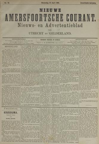 Nieuwe Amersfoortsche Courant 1888-04-25