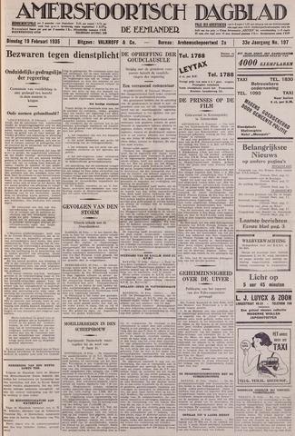 Amersfoortsch Dagblad / De Eemlander 1935-02-19