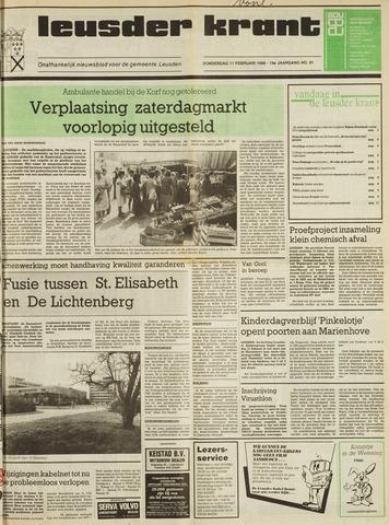 Leusder Krant 1988-02-11