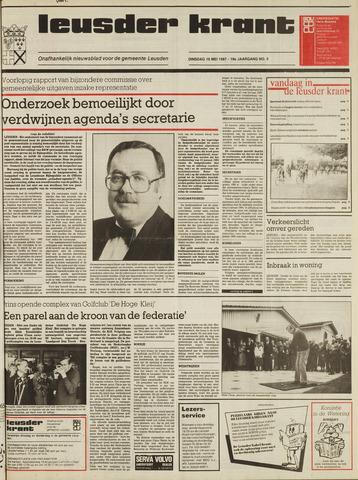 Leusder Krant 1987-05-19