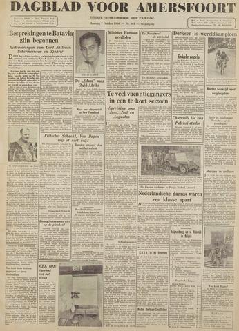 Dagblad voor Amersfoort 1946-10-07
