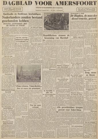 Dagblad voor Amersfoort 1947-01-09