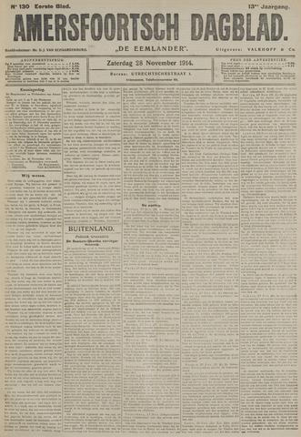Amersfoortsch Dagblad / De Eemlander 1914-11-28