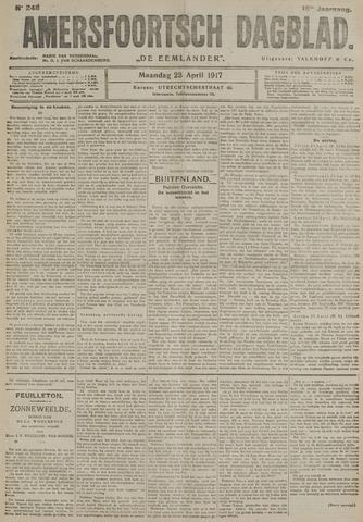 Amersfoortsch Dagblad / De Eemlander 1917-04-23