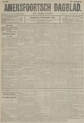 Amersfoortsch Dagblad / De Eemlander 1914-12-03