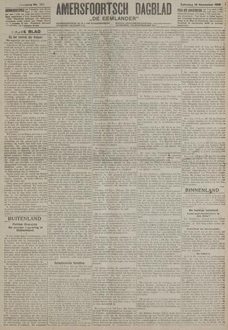 Amersfoortsch Dagblad / De Eemlander 1918-11-16