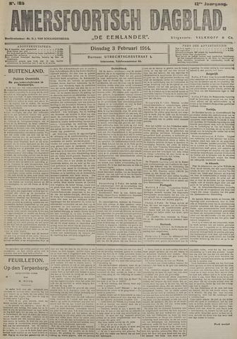 Amersfoortsch Dagblad / De Eemlander 1914-02-03