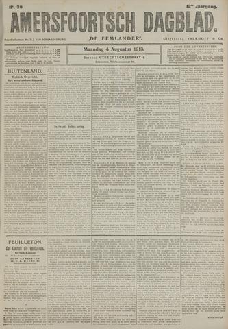 Amersfoortsch Dagblad / De Eemlander 1913-08-04
