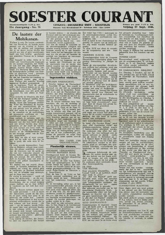 Soester Courant 1946-09-27
