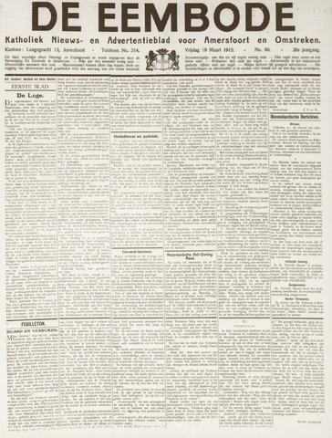 De Eembode 1915-03-19
