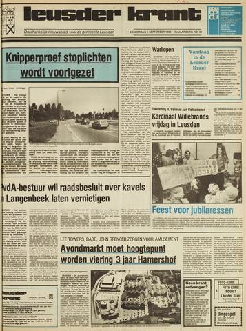 Leusder Krant 1983-09-01