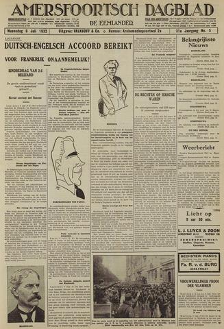 Amersfoortsch Dagblad / De Eemlander 1932-07-06