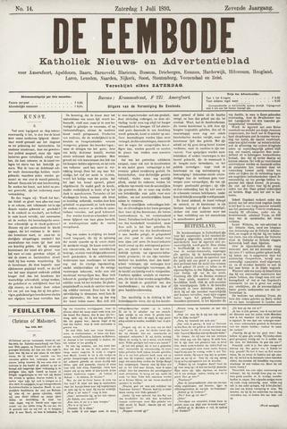 De Eembode 1893-07-01