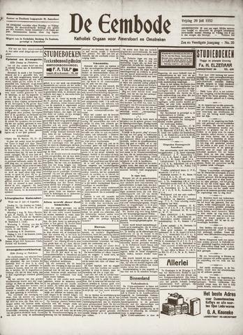 De Eembode 1932-07-29