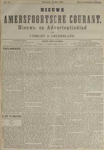 Nieuwe Amersfoortsche Courant 1895-05-22
