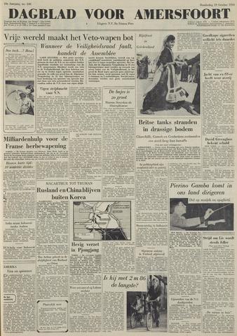 Dagblad voor Amersfoort 1950-10-19
