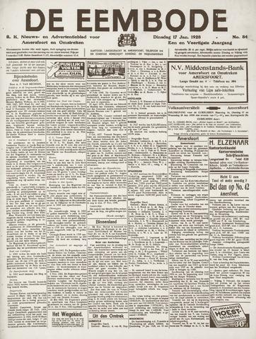 De Eembode 1928-01-17